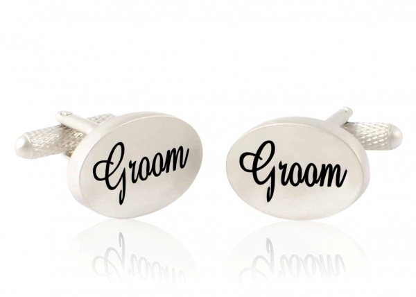 Groom Wedding Cufflinks - Gents Shop