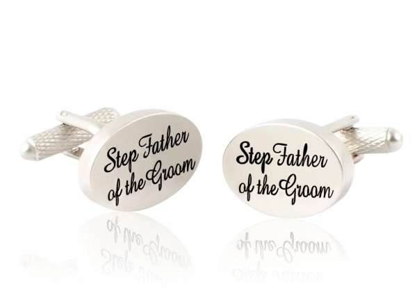 Step Father of the Groom Wedding Cufflinks - Gents Shop
