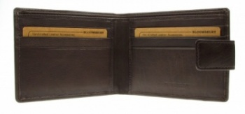 Bloomsbury Leather Wallet Brown 5914