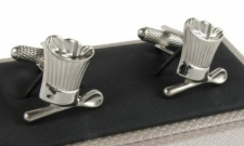 Chefs Hat and Spoon Cufflinks