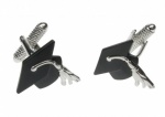 Graduation Hat Mortar Board Cufflinks