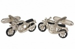 Gift Set Of Motorbike Themed Cufflinks
