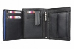 Black Mala Leather Origin Notecase Wallet With RFID