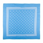 Blue Large Spotted Handkerchiefs
