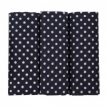 Navy Blue Spotted Handkerchiefs