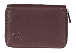 Brown Mala Leather Origin Concertina Credit Card Holder with RFID Protection 552 5