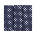 Extra Large Navy Blue Spotted Hankies