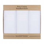 Extra Large White Handkerchiefs