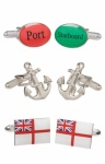 Royal Navy Cufflinks Gift Set