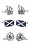 Gift Set of Scottish Themed Cufflinks