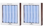 Twin Pack Blue Cotton Handkerchiefs