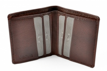 Mala Brown Leather Shirt Wallet Verve Style 135 26
