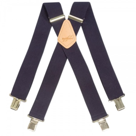 BriMarc Navy Blue Work Braces