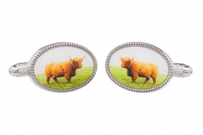 Highland Cattle Cufflinks