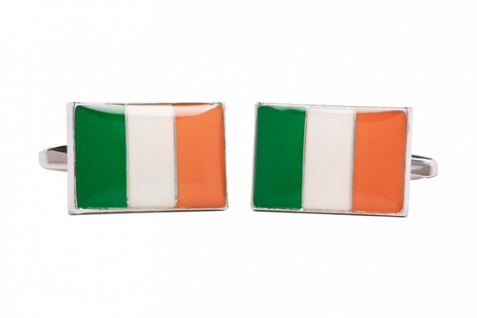 Irish Cufflinks - Flag of Ireland