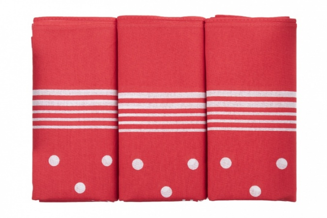 Spotted Red Handkerchiefs