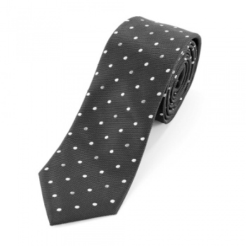 Black  Polka Dot Tie and Handkerchiefs Bundle