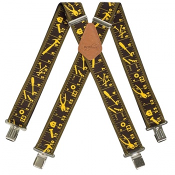 Black Tape Measure Work Braces