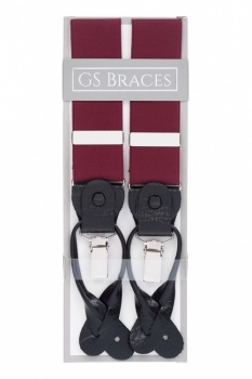 Burgundy 2 in 1 Braces