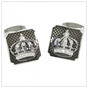 Crown Cufflinks for Shirts