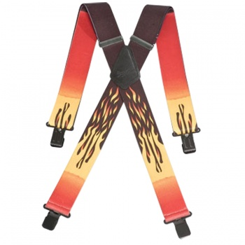 Flames Work Braces