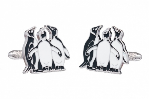 Huddle of Penguins Cufflinks