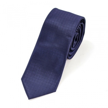 Navy Blue Neck Tie and White Handkerchiefs Bundle
