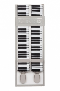 Piano Key Trouser Braces