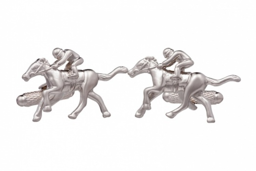 Galloping Racehorse Cufflinks