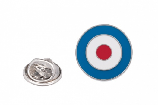 RAF Roundel Suit Lapel Pin