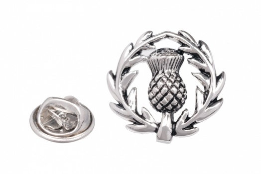 Scottish Thistle Jacket Lapel Pin
