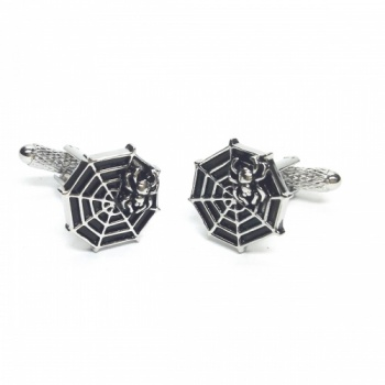 Spiders Web and Spider Cufflinks