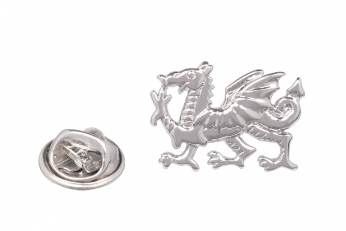 Welsh Dragon Suit Lapel Pin